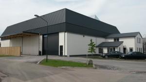 nieuwbouw bedrijfsloods Wouters Wanroij BV